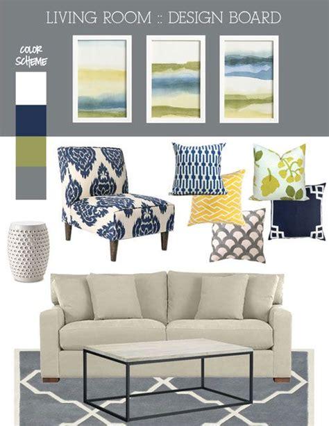 mood board fresh blue green  grey living room living rooms great rooms living room