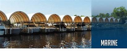 Boat Storage Marina Buildings Covers Fabric Building