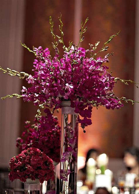 top   purple flower centerpieces ideas  pinterest