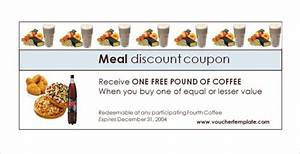 food coupon template idealvistalistco With free meal coupon template