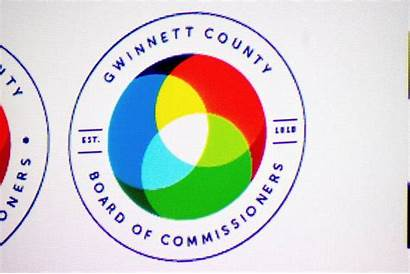Gwinnett County Branding Seal Commissioners Gwinnettdailypost Considering