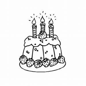Dessin Gateau D Anniversaire : coloriage g teau anniversaire 3 ans anniv pinterest ~ Louise-bijoux.com Idées de Décoration