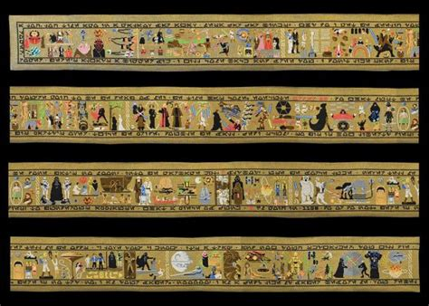 Tapisserie Foot by Artist Creates Epic 30 Foot Wars Tapestry