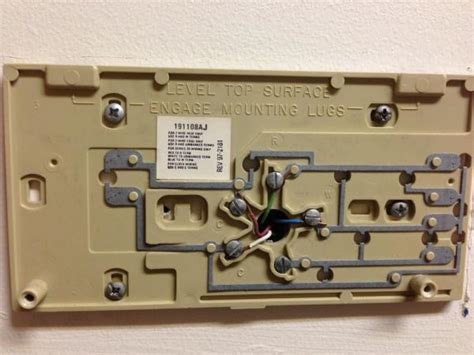 replacing honeywell chronotherm to honeywell wi fi thermostat wiring help doityourself