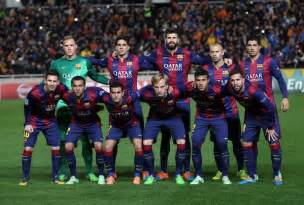 2015 Barcelona Team