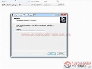 Auto Repair Manuals  Porsche Wiring Diagram 2017 Version V1 4 0