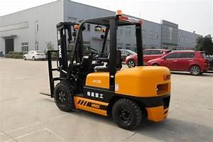 Manual Diesel Industrial Lift Truck 3 5 Ton With Yanmar