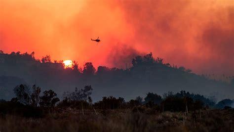 air siege social bel air wildfire joins siege across southern california