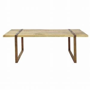 Table Industrielle Maison Du Monde : table basse indus atlantide maisons du monde ~ Teatrodelosmanantiales.com Idées de Décoration