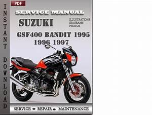 Suzuki Bandit Gsf400 1995 1996 1997 Factory Service Repair Manual D