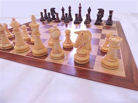 jual papan catur lipat mewah bidak catur kayu unik tas