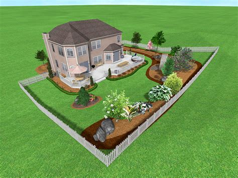 backyard blueprints landscape design software gallery page 5