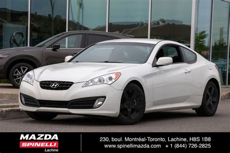 Hyundai Genesis Horsepower by Used 2011 Hyundai Genesis Coupe 2 0t Bas Kms For Sale In