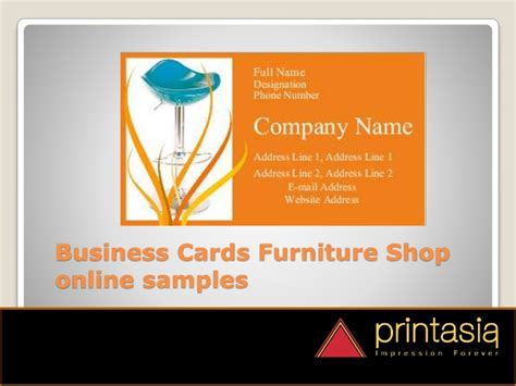 Furniture Shop Visiting Cards Designs Printasia.in Business Card Holder Organizer Sheets Not On The High Street Greeting Ideas Yoda Stick Scanner To Outlook Sample Doc