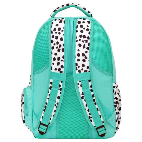personalized spotty dog print backpack lunch box matched set monogrammed laptop backpack