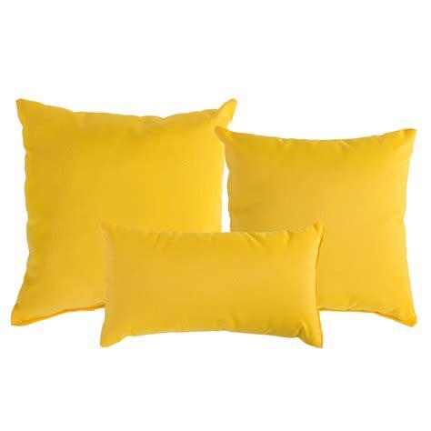 sunbrella cusions sunflower yellow sunbrella outdoor throw pillow dfohome