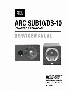 Jbl Ds 10  Serv Man2  Service Manual  U2014 View Online Or