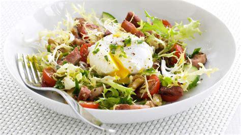 la cuisine lyonnaise salade lyonnaise recipe sbs food