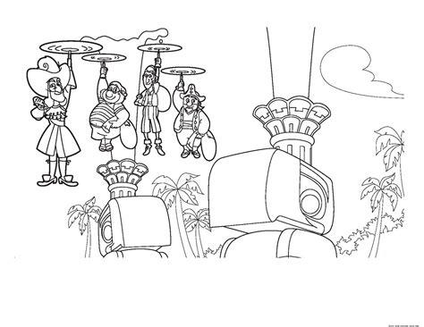 Captain Hook Coloring Pages - Eskayalitim