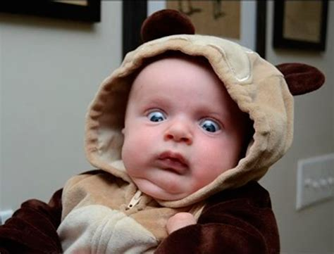 funny babies scared  toys