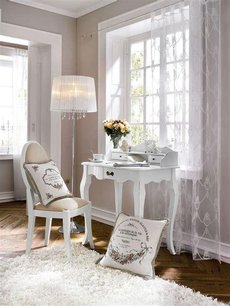 bureau romantique blanc les 25 meilleures idées de la catégorie chambres shabby
