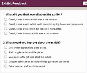 Creating a practical survey the effect of survey design for Multiple choice questionnaire template