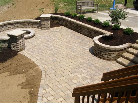 Stone Pavers Patio Design Ideas