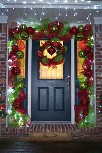 southern fried gal Christmas Door Decor Building The