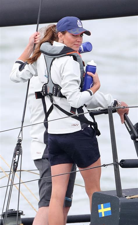 Prince William and Kate Middleton King's Cup Race Aug ...
