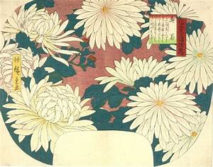 Chrysanthemums by Hiroshige | Arte in Giappone