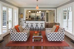 Sun Room Kitchen Eclectic Family Room Portland By