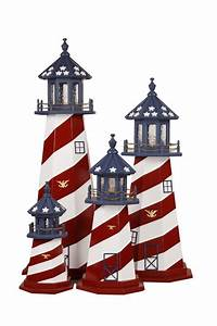 Decorative Lawn Lighthouse Replica - Made in USA