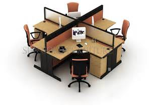 Fashionable Office Workstation/partitions 4 Person Desk ...