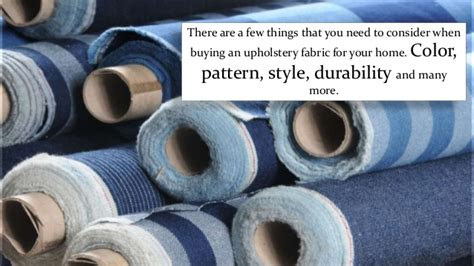 How To Choose Upholstery Fabric by Things You Should Consider When Choosing Upholstery Fabric