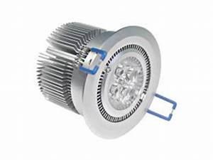 SPOT LED ENCASTRABLE PLAFOND 220V 10W BLANC CHAUD