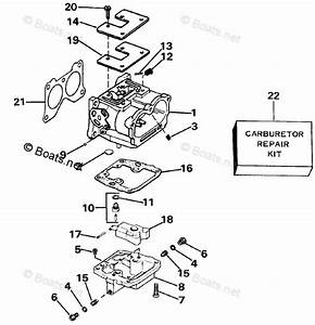 Johnson Outboard Parts By Year 1986 Oem Parts Diagram For