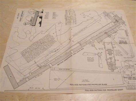 anh fisherman windmill vintage woodworking plan