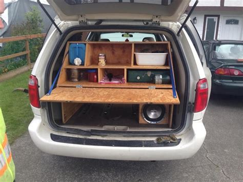 Maybe you would like to learn more about one of these? Slick mini van camper conversion … | Minivan camper ...