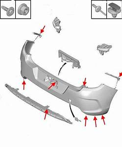 How To Remove Front And Rear Bumper Citroen C4 B7  After 2010