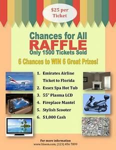 16 Free Raffle Flyer Templates prize cash 50 50