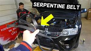 Dodge Journey Serpentine Belt Replacement Diagram 3 6 V6
