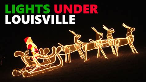 underground lights in louisville ky lights louisville 2015 mega cavern 47820
