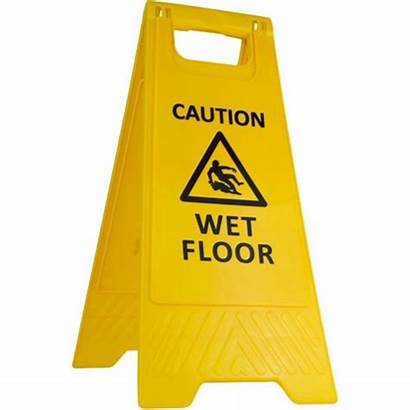 Wet Sign Warning Floor Caution Clip Clipart
