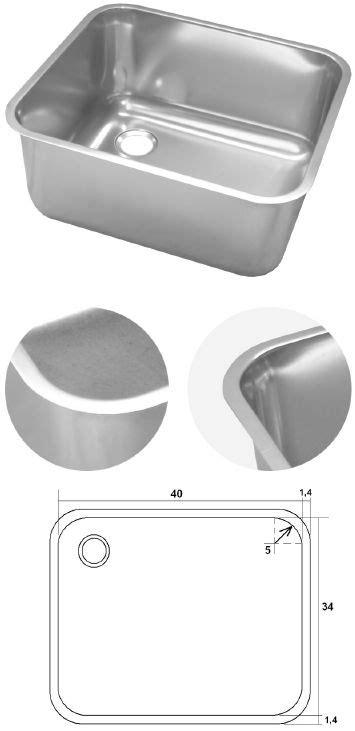 bac pro decorateur interieur bac inox rectangle 224 encastrer souder ou poser bacs inox professionnels