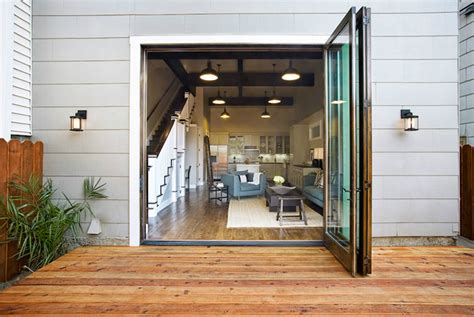 modern patio doors contemporary deck patio sutro