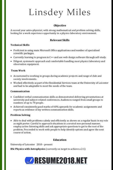 resume template guide   latest updates resume