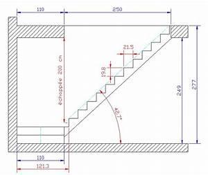 Aide dimensions escalier 1/4 tourant + palier