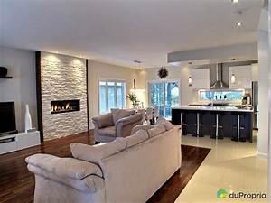 davausnet decoration cuisine salon aire ouverte avec With salon cuisine aire ouverte