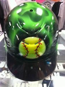 airbrushed helmets on Pinterest