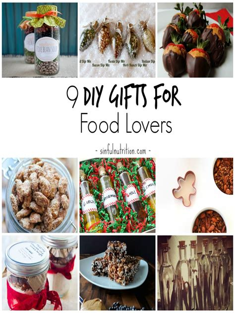 diy cuisine 9 diy gift ideas for food sinful nutrition